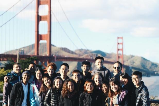 Class at Golden Gate
